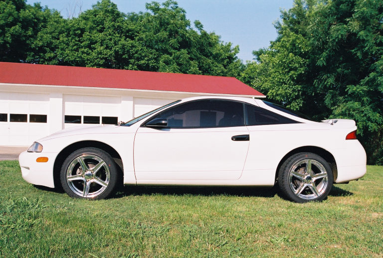 1996 mitsubishi eclipse with a hex license plate. Black Bedroom Furniture Sets. Home Design Ideas