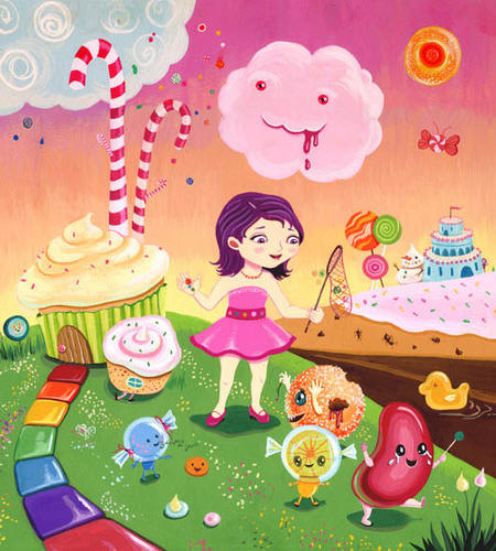 Candyland Nibble by Tiffany Liu